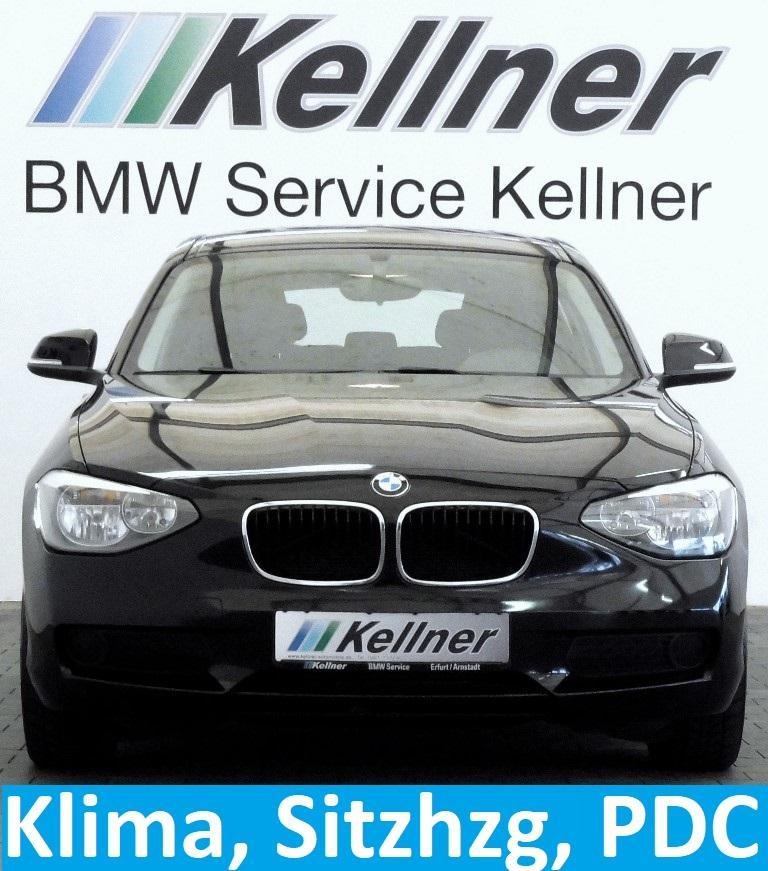 BMW 114i Limousine Klima, Sitzheizung, PDC