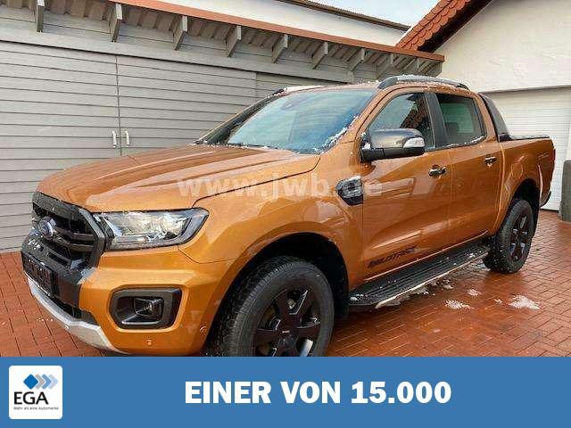 Ford Ranger Wildtrak 2,0 Aut Doka Rollo 178¤Steuer Np57t 32%