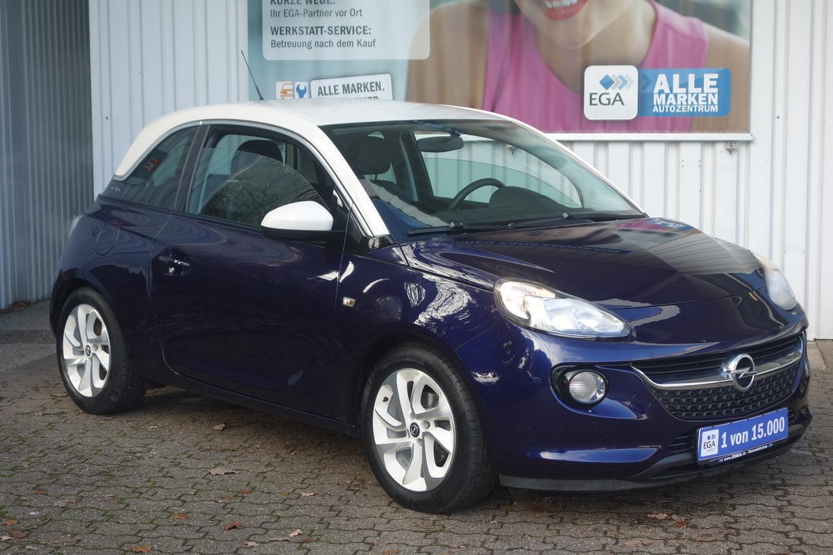 Opel Adam 1.0 JAM ALU*KLIMA*TEMPOMAT*BTH*MFL*PRIVACY*MP3*1.HAND*