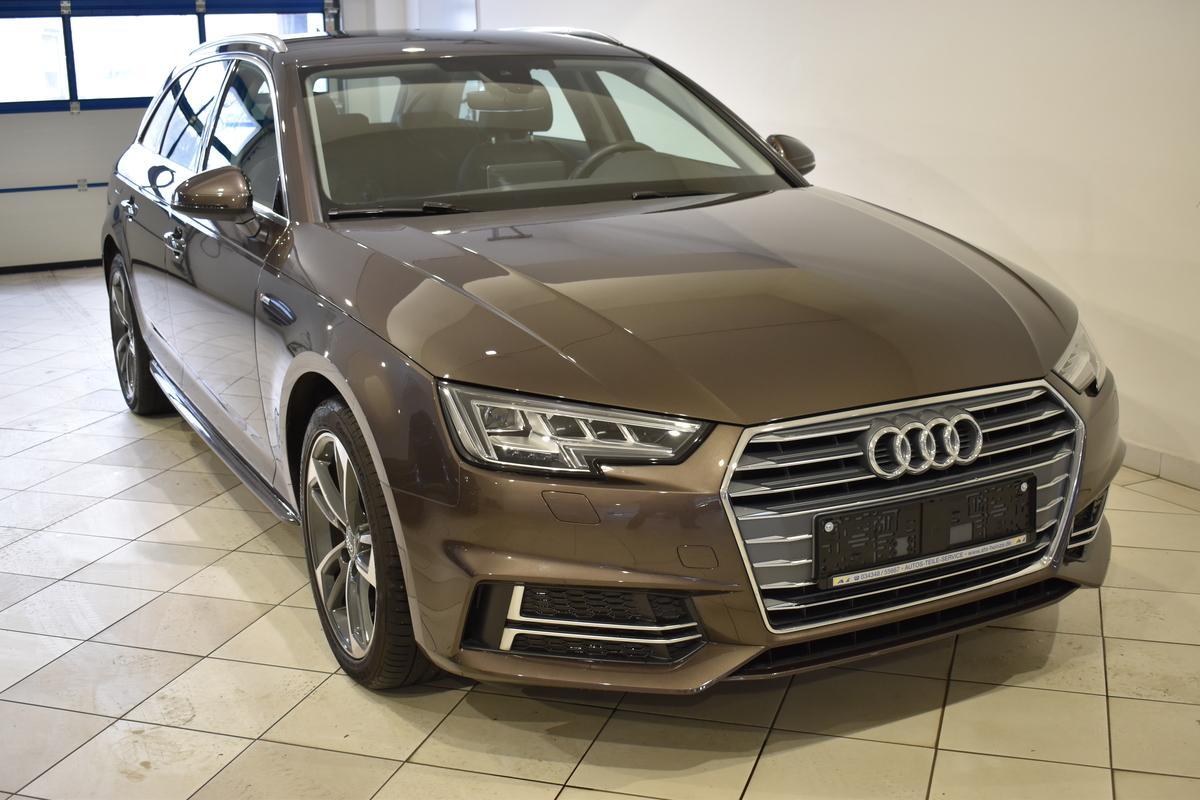 Audi A4 Avant 2.0TDI S-LINE AHZV LED NAVI