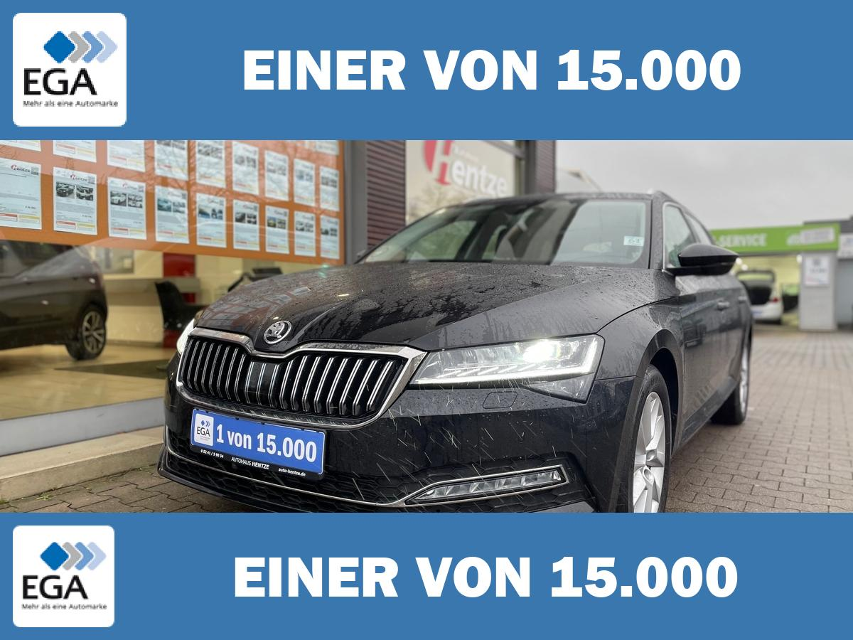 Skoda Superb Combi 1.5 TSI DSG Style virtual cockpit Leder/LED