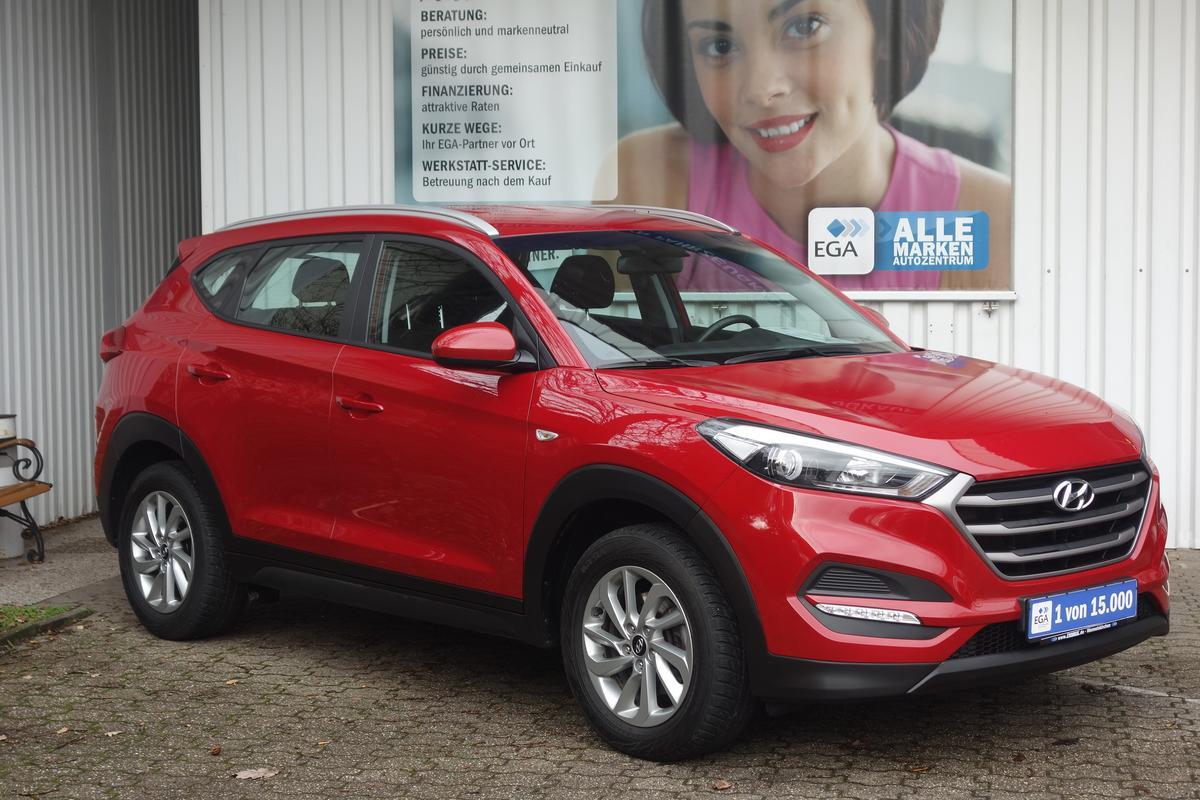 Hyundai Tucson 1,6 GDI GO KLIMA NAVI ALU BLUETOOTH PDC KAMERA