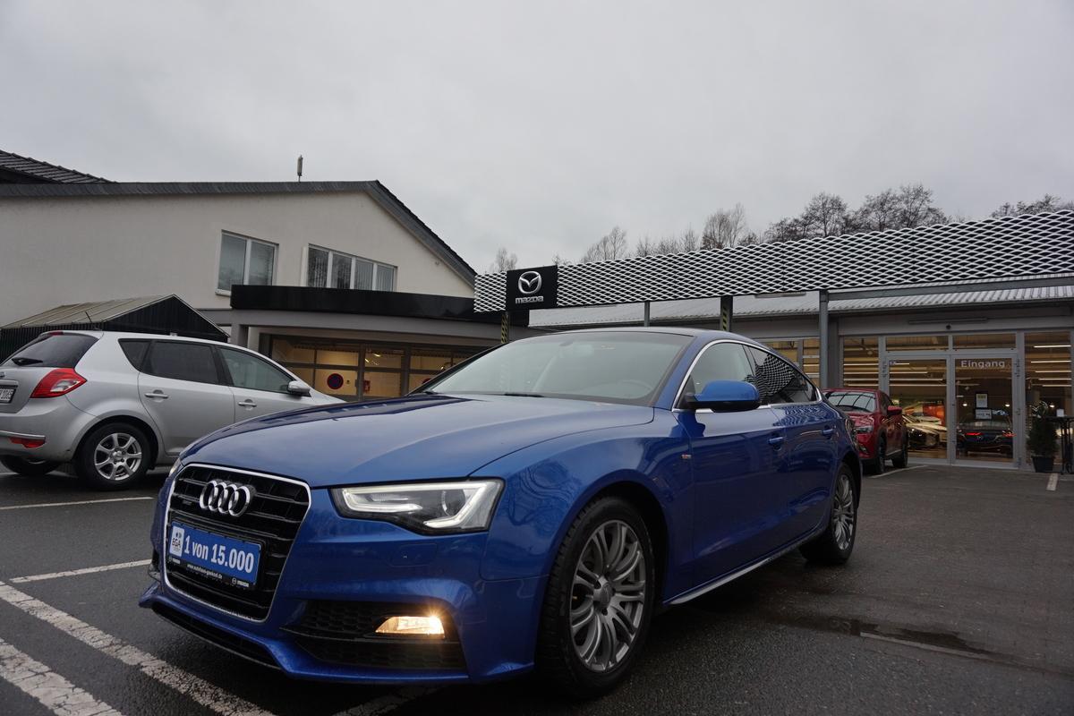 Audi A5 Sportback S-Line, Automatik, Quattro, Bi-Xenon