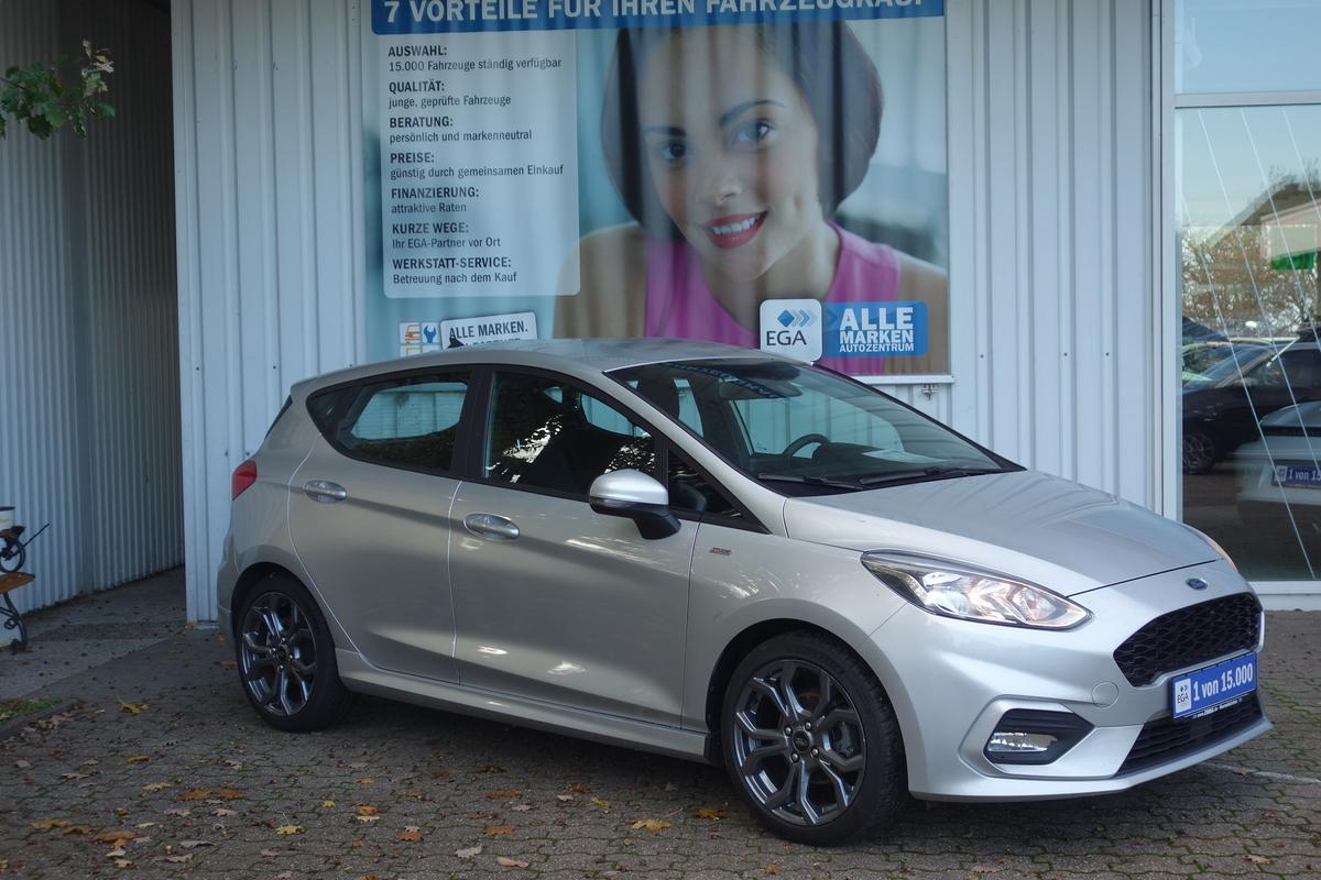 Ford Fiesta 1.0 EB ST-Line NAVI*LANE*KLIMA*ALU*FS+SITZ+LKR heizba