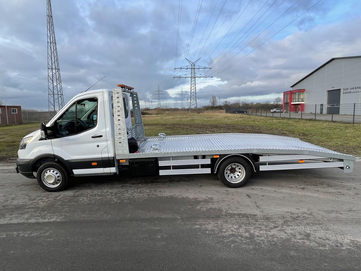 Ford Transit 3,5T Heavy Fahrwerk Zwillingsb., Klima, Rundum., AHK