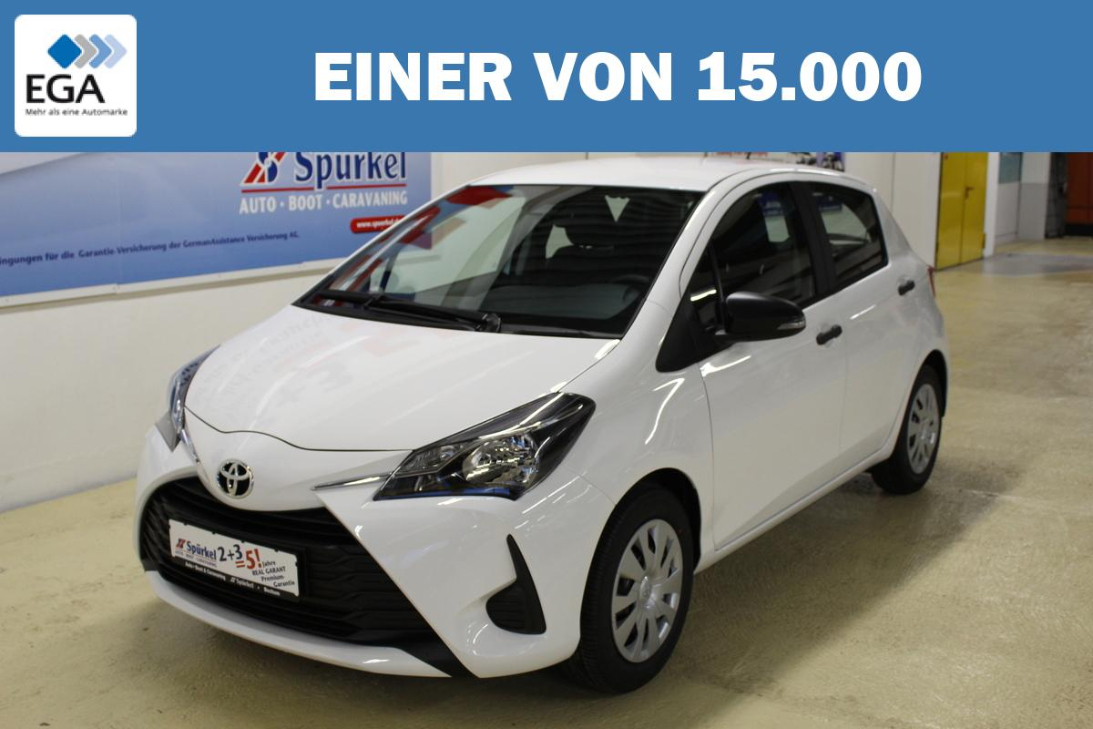 Toyota Yaris 1.0 VVt-i, Klimaanlage, CD Radio, Bluetooth,