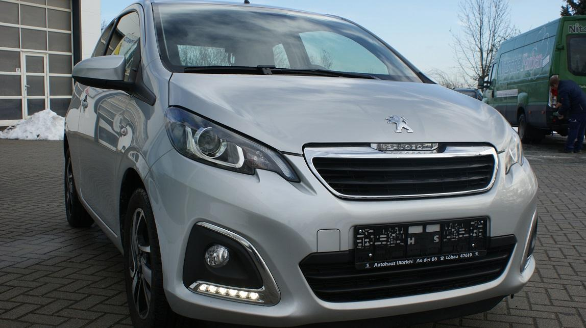Peugeot 108 Allure + Sitzheizung