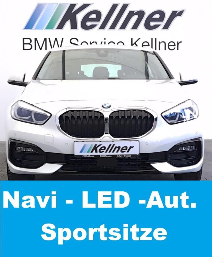 BMW 116d F40 Sport Line, Live Cockpit Plus, Sportsitze