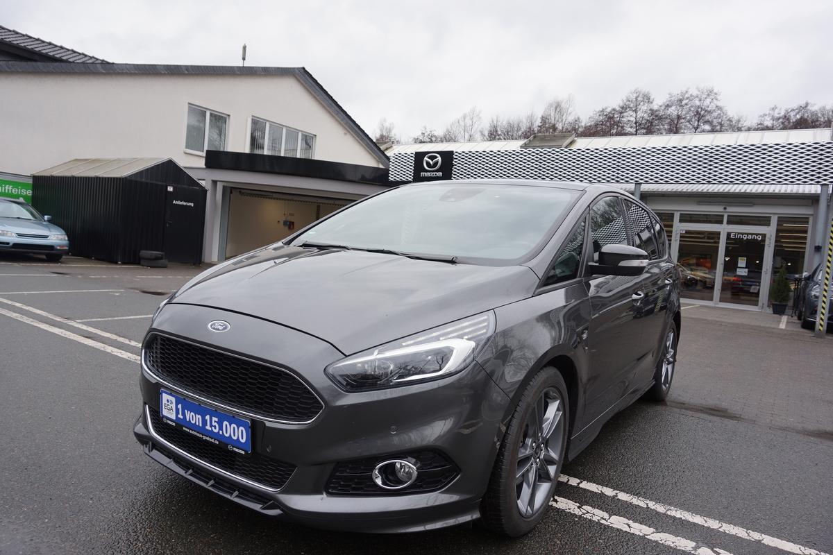 Ford S-Max ST-Line, Leder, Navi, LED, Pano, AHK, 7-Sitze Voll