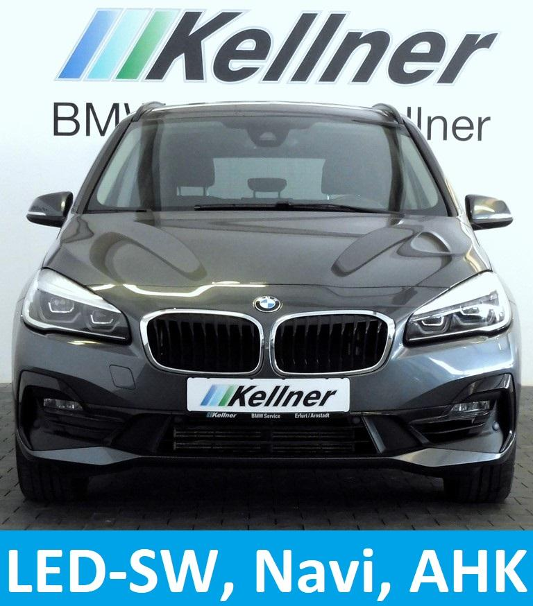 BMW 216 Gran Tourer Sport Line Navi, AHK, Sportsitze, LED-SW