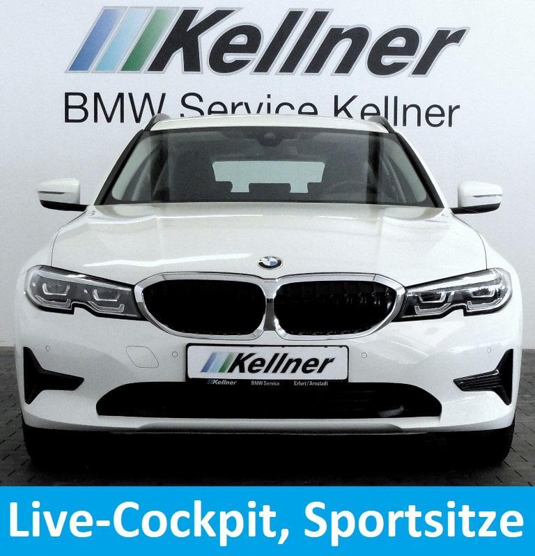 BMW 318d G21, Live Cockpit Prof., Sportsitze, LED