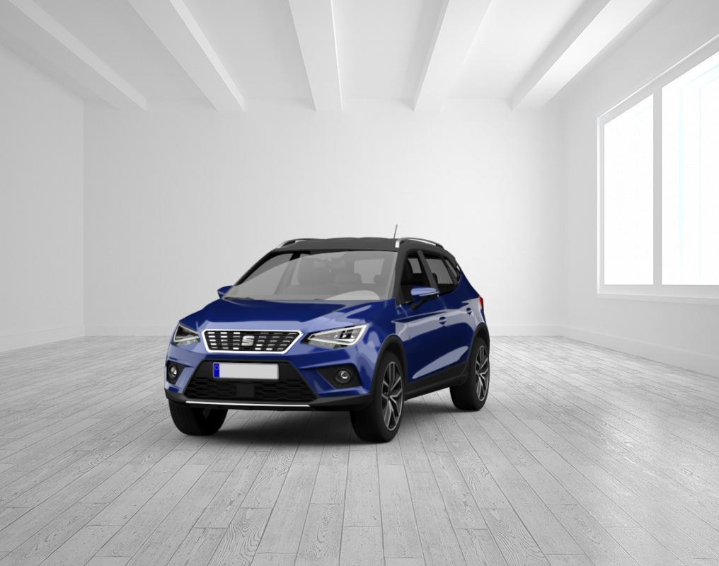 Seat Arona FR 1.0 TSI DSG Mystery Blau/Dach Schwarz LED, Vis. Plus, 18
