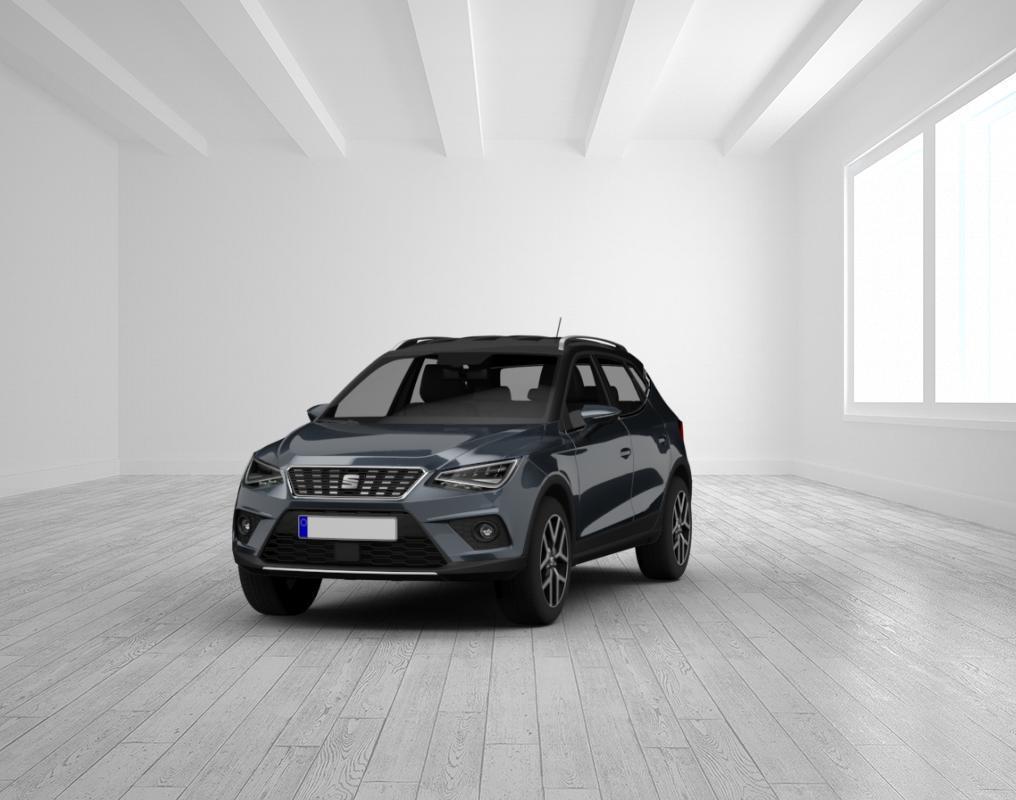 Seat Arona FR 1.0 TSI DSG Magnetic Grau/Dach Schwarz LED, Vis. Plus, 18