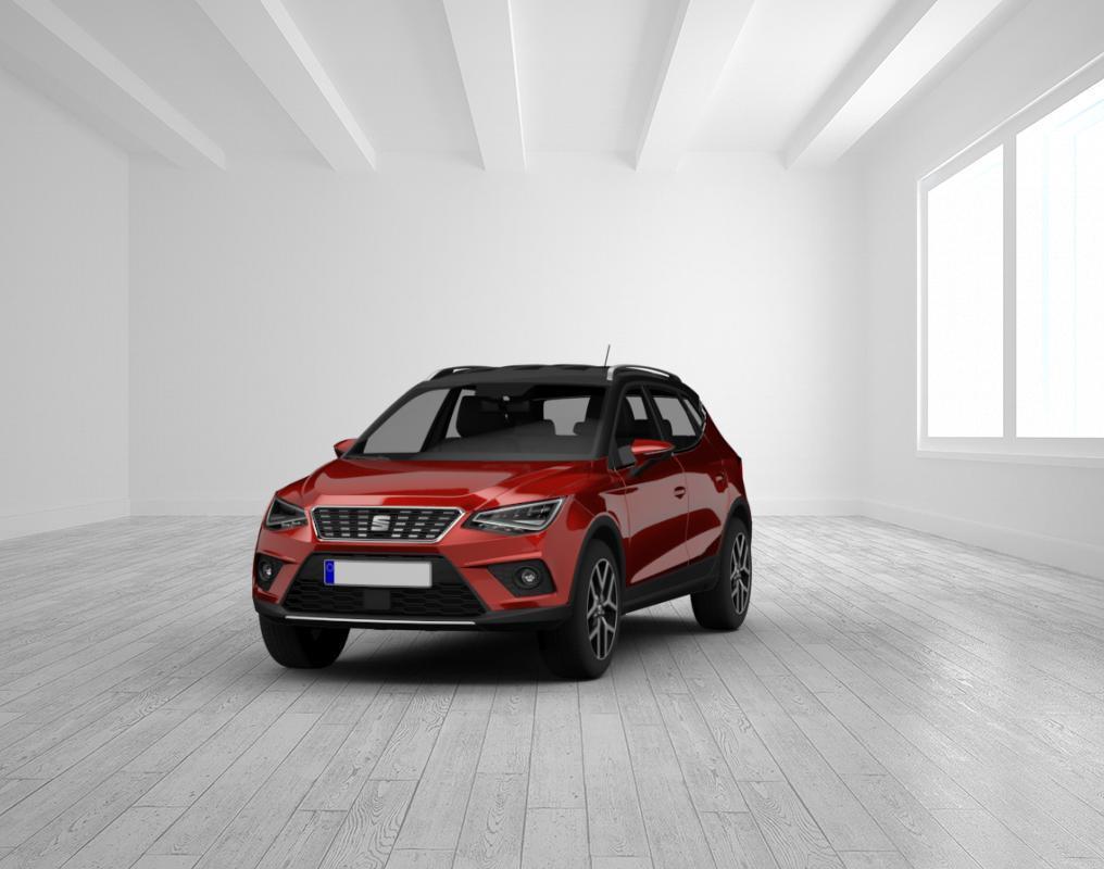 Seat Arona FR 1.0 TSI DSG Desire Rot/Dach Schwarz LED, Vis. Plus, SHZ, 18