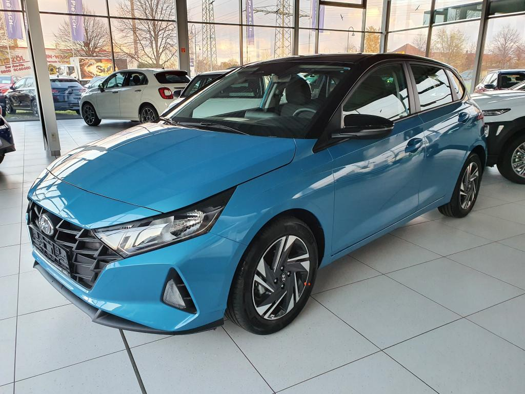 Hyundai i20 Neues Modell 2020 1.2 *SOFORT* *Navi*Klima*SHZ*PDC+R.Cam*Alu16*