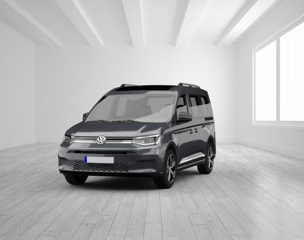 VW Caddy RT 2.0 TDI 90 kW mit Panoramadach, Sunset, 7-Sitzer Paket, LED, Klima, PDC