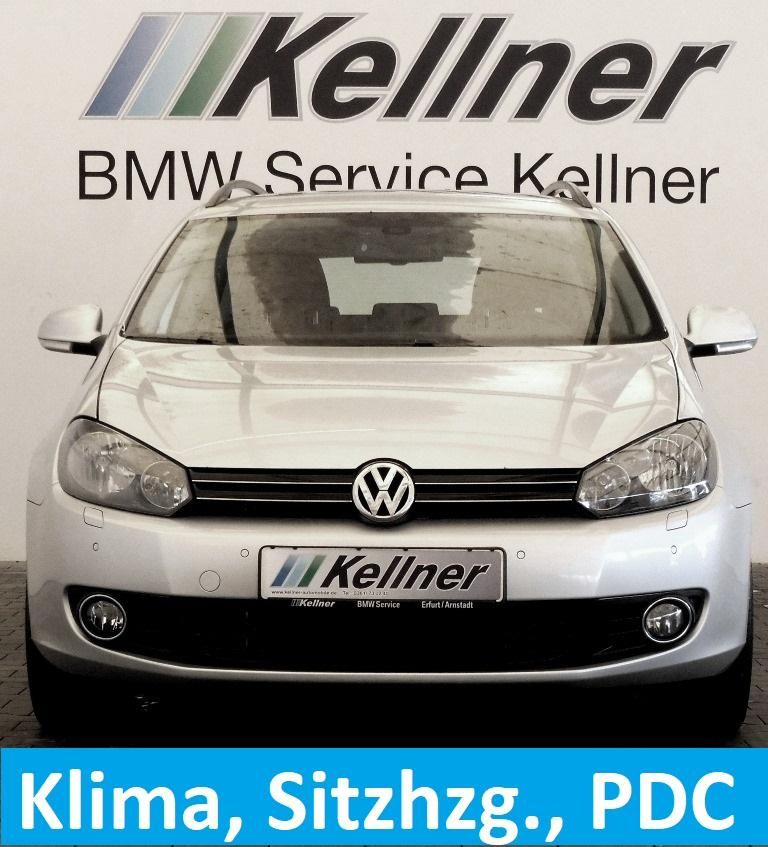 Volkswagen Golf Variant 2.0 TDI DPF Klima, Sitzheizg., PDC, Comfortline