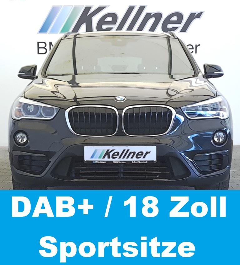 BMW X1  18d Sport Line LED-SW, 18 Zoll, DAB+