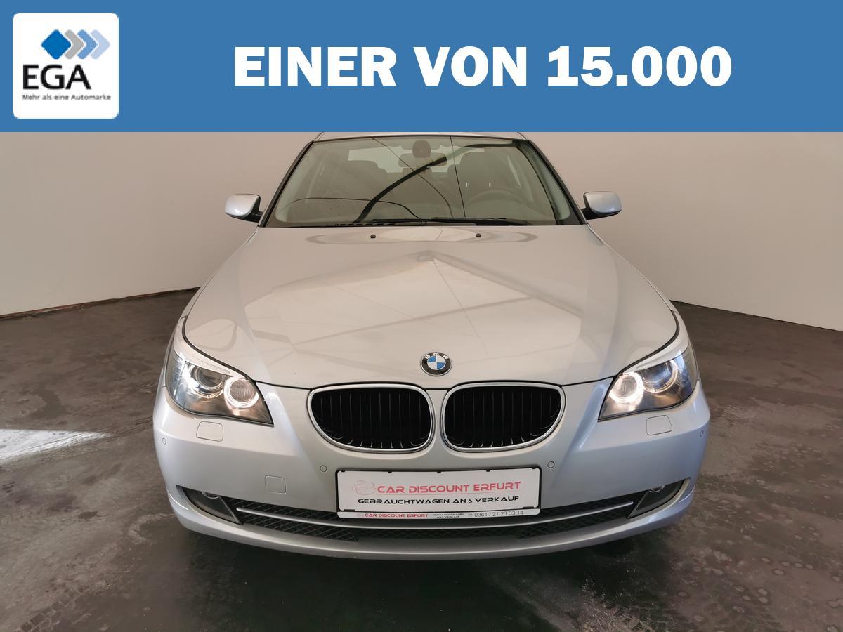 BMW 520i Lim+2.Hand+TOP Zustand+Leder+Navi+Xenon+