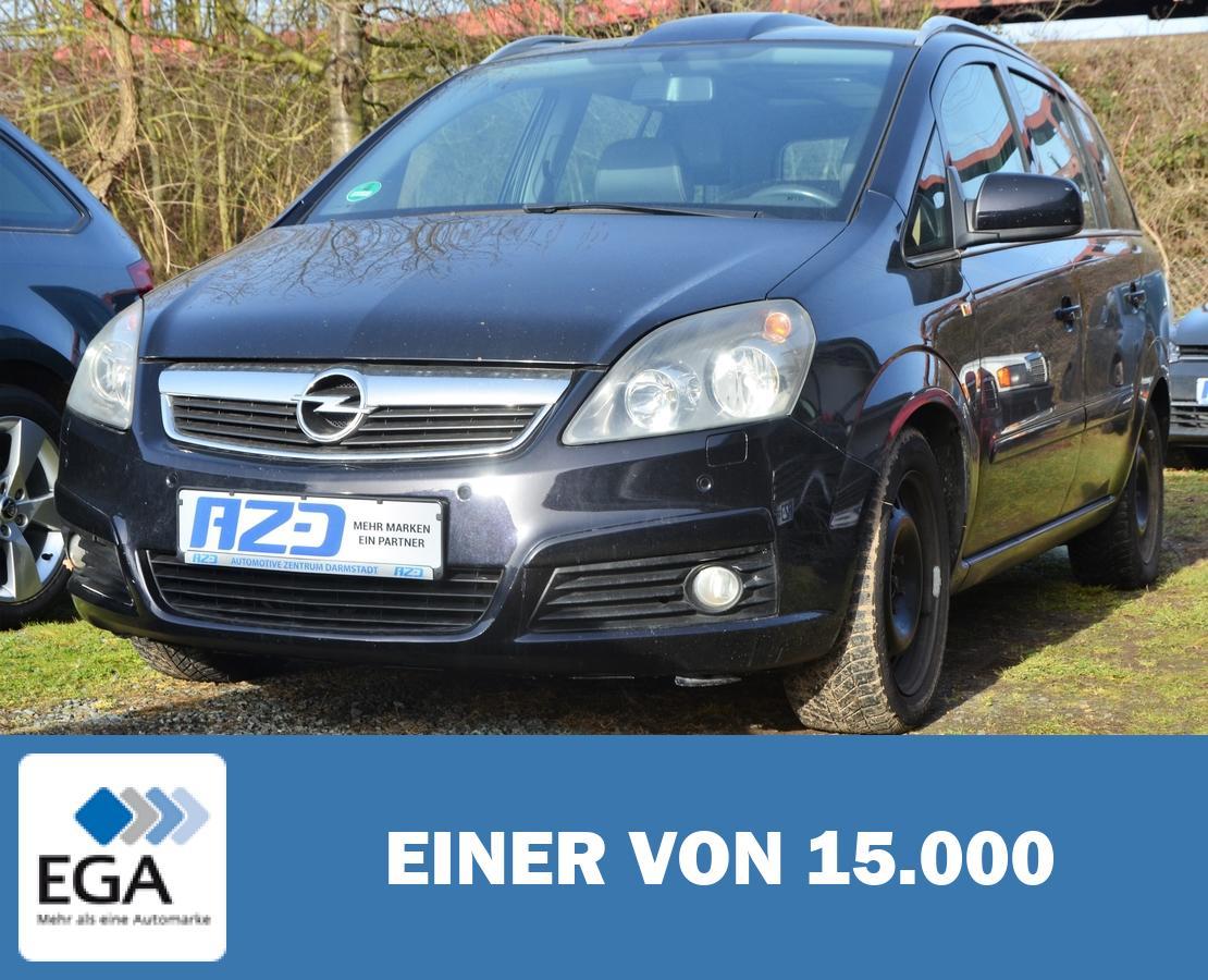 Opel Zafira B 1.9 CDTI STANDHZ T-LEDER 7SITZ AHK PANO SHZ