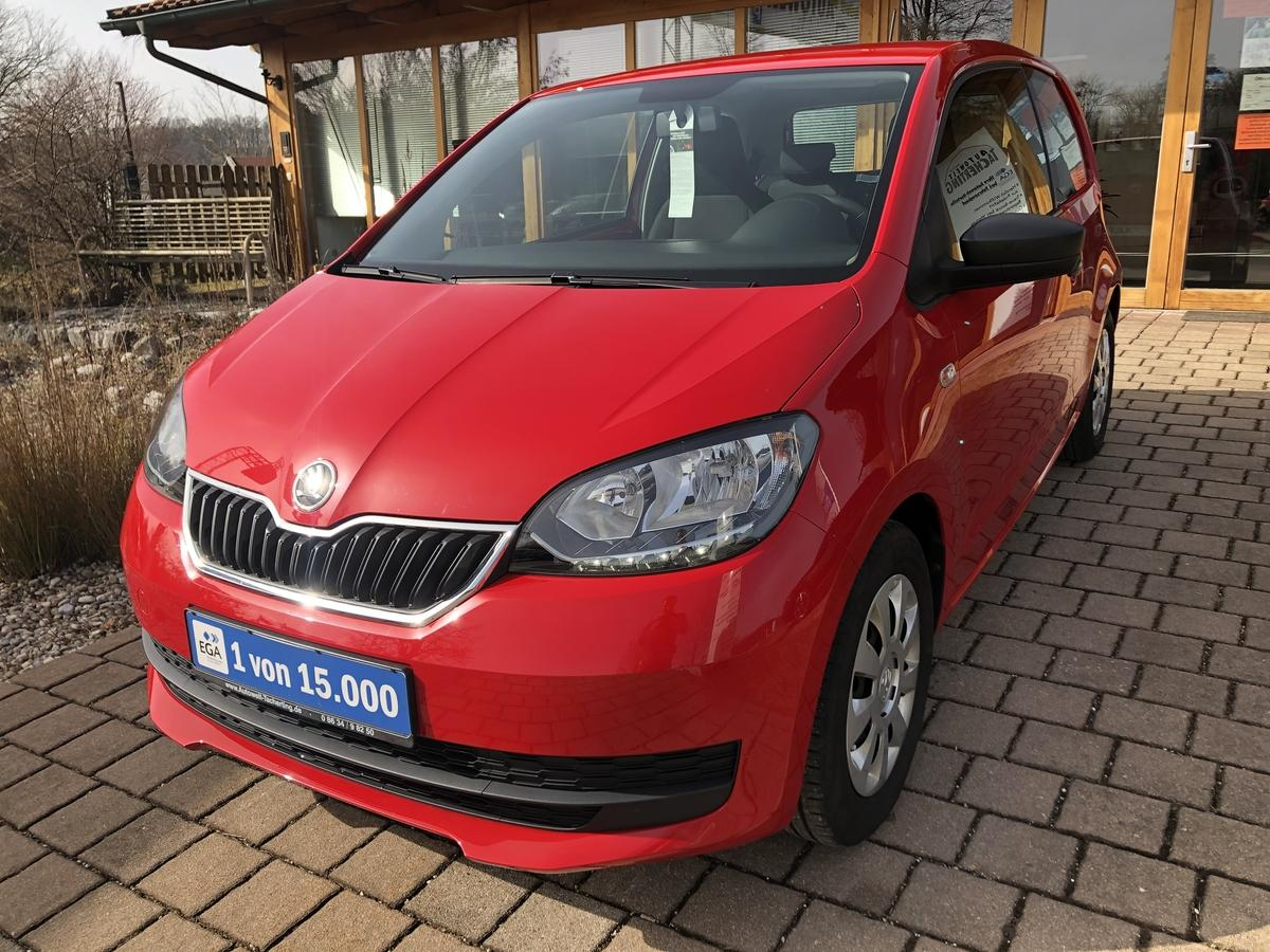 Skoda Citigo 1,0 60PS Active Cool Klimaanlage*8-Fach bereift