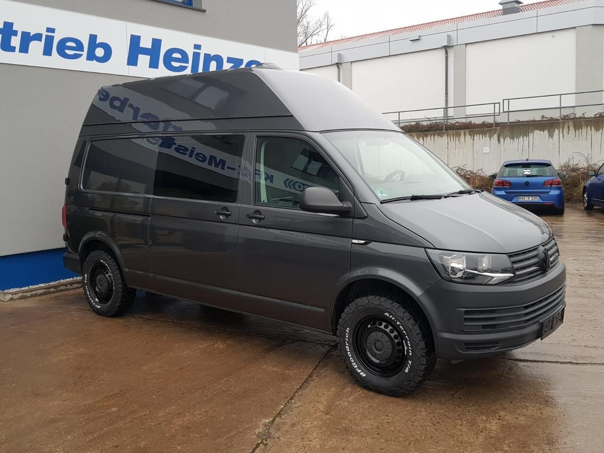 Volkswagen T6 Transporter 2.0TDI Kasten Hoch + Lang 4x4 AHZV KLIMA STH