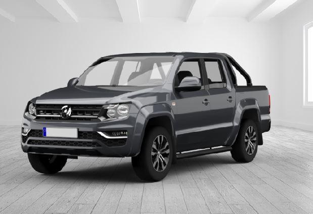 VW Amarok 3.0 V6 TDI DPF Highline 4Motion DoubleCab, Android Auto, Leder Sitze, AHK