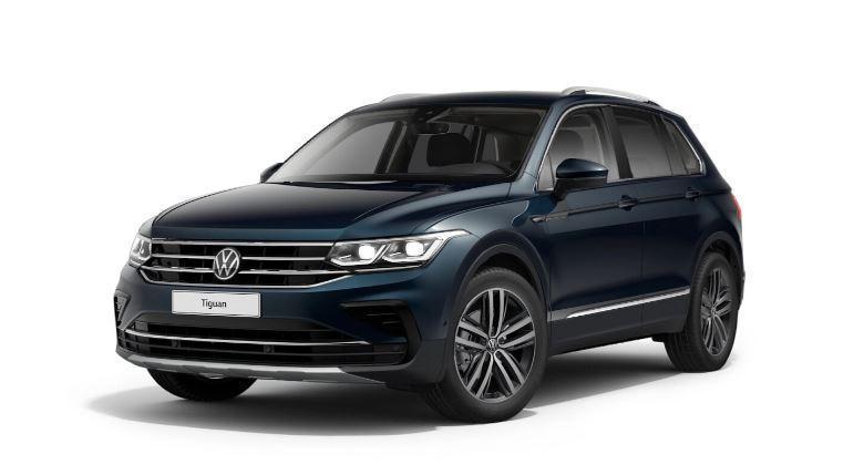 VW Tiguan Elegance 1.5 TSi OPF DSG mit Rückfahrkamera, AHK, Navigaitossystem V+P E
