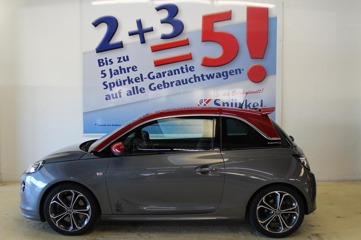 Opel Adam 1.4, Sitzheizung, Sportsitz Recaro mit Leder Nappa
