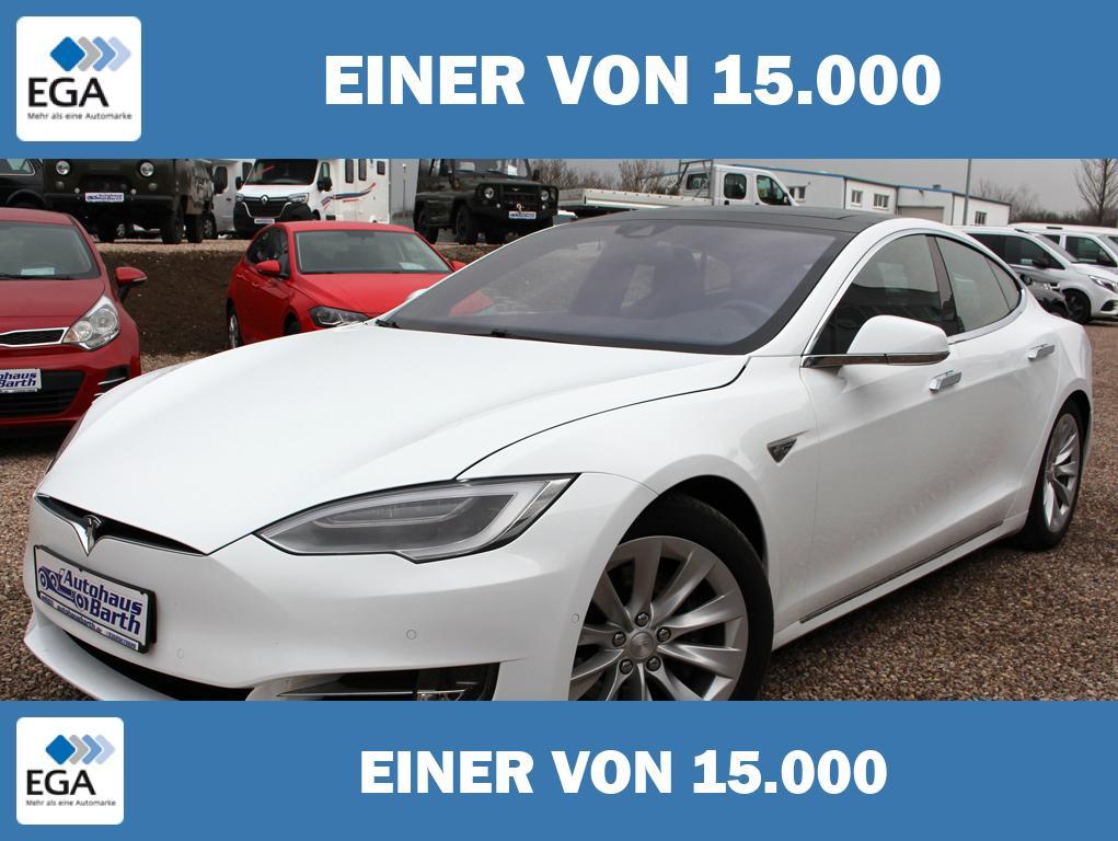 Tesla Model S * 90 D * SC Free *Luftfederung *Pano-Dach *AP *