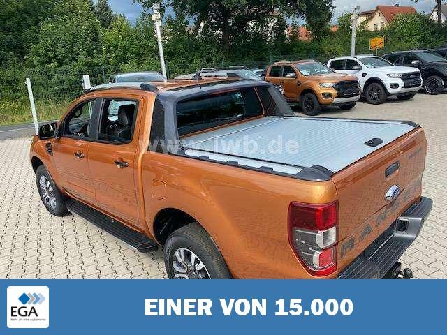 Ford Ranger Wildtrak 2,0 höher Rollo 180€Steuer Np58 AHK ACC