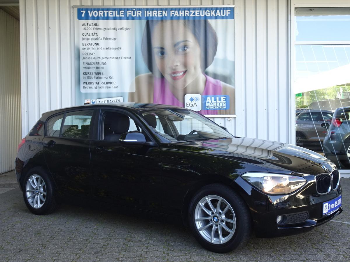 BMW 116i ALU FELGEN*PDC*SITZHEIZUNG*BLUETOOTH*MFL*