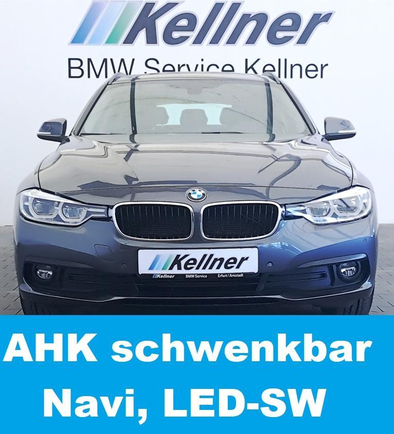 BMW 320 d Tour. AHK schwenkbar, Navi, LED-SW