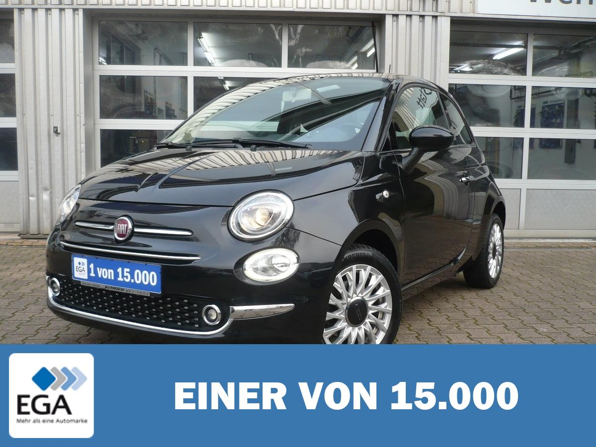Fiat 500 1.2 8V Lounge - PDC/ Klima/ CarPlay/ Freispr./ Tempom.