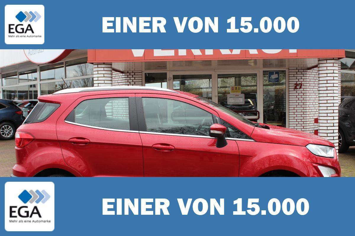 Ford EcoSport Titanium / Navi  / Winterpaket / FGS 5 Jahr / B & O
