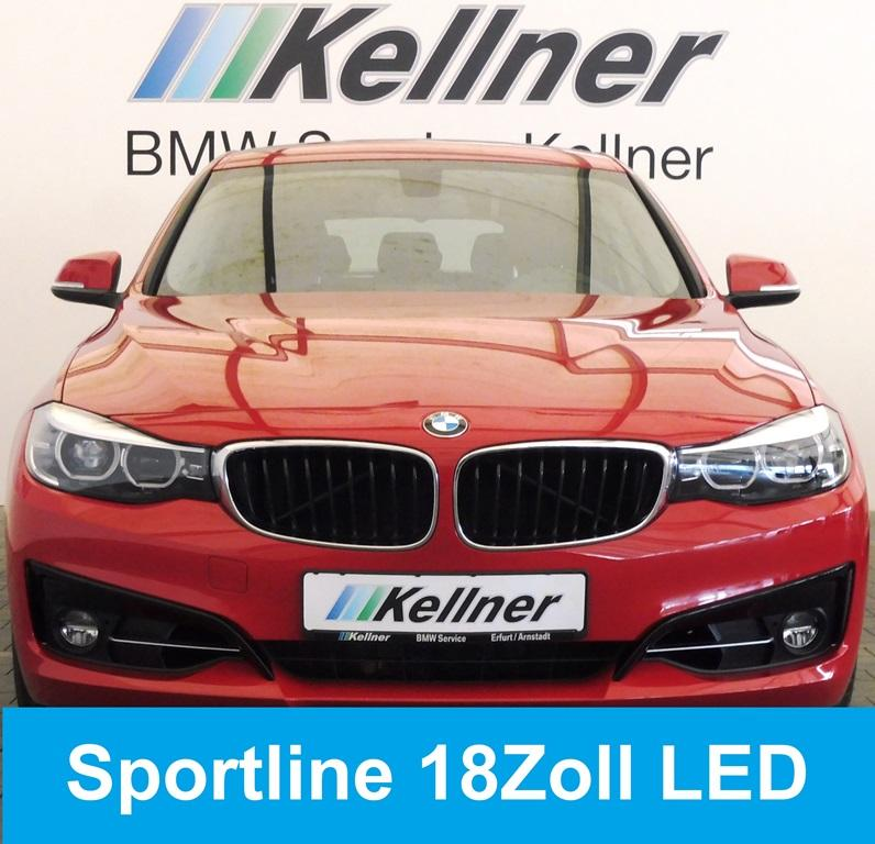BMW 320 Gran Turismo i Sport Line, 18 Zoll, LED-SW, Navi, PDC