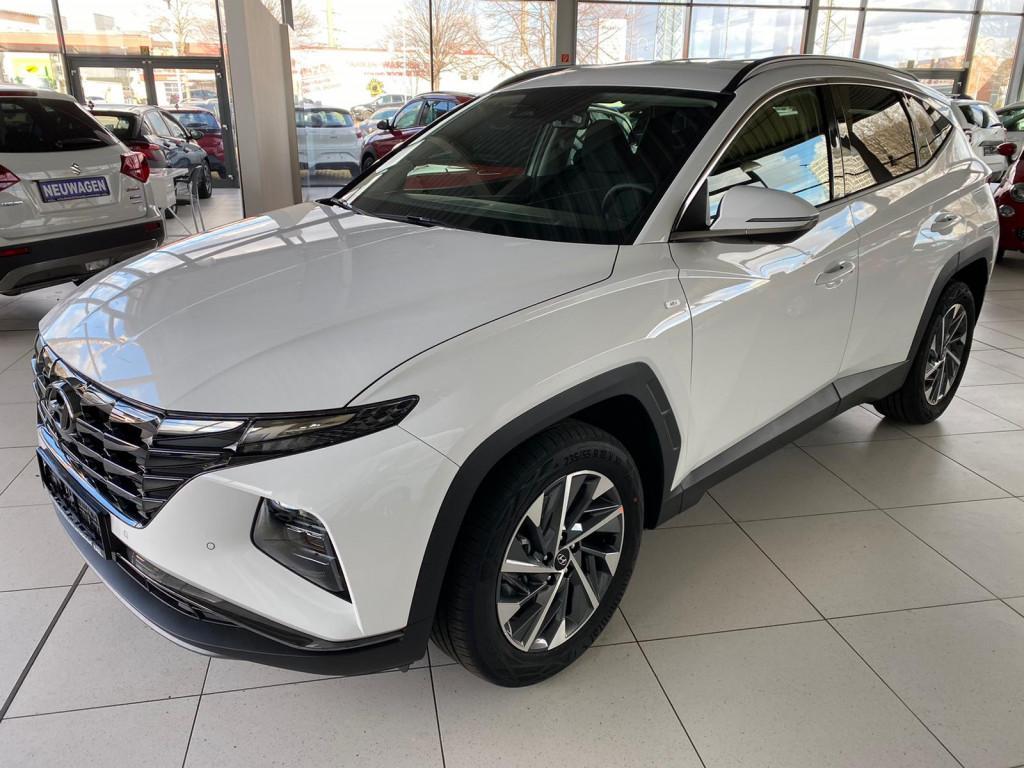 Hyundai Tucson Premium *FACELIFT 2021* 1.6 T-GDI Mildhybrid *7AT*4WD*Leder*360 Cam*El. H