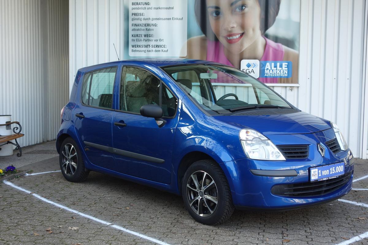 Renault Grand Modus 1,2i ADVANTAGE*58TKM*2 HAND*FAHRRADTRÄGER HECK*