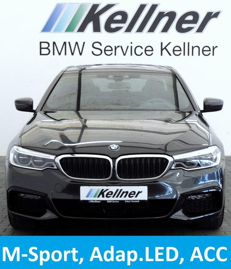 BMW 520i M-Sport, Sitzbelüftung, ACC, Adap.LED-SW