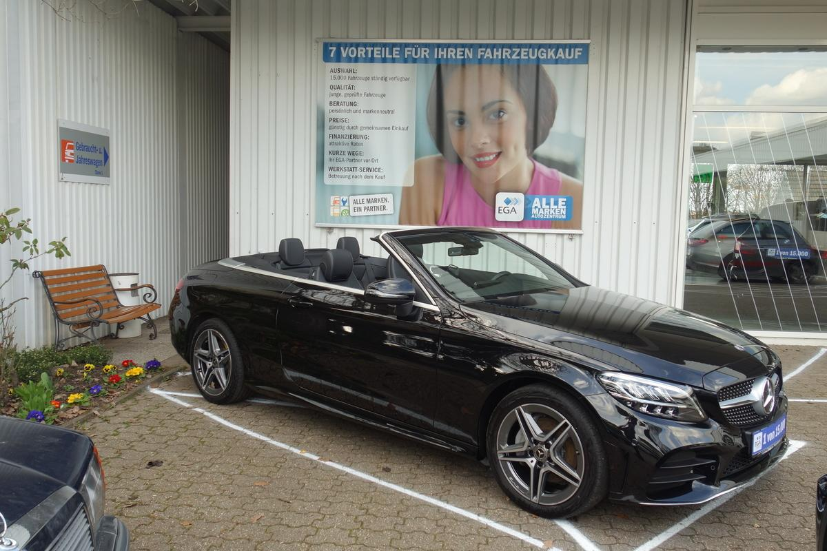 Mercedes-Benz C 180 Cabrio AMG*INFO*KOMFORT*PARK*LED*SCARF*CAM*PTS*ADVANCE