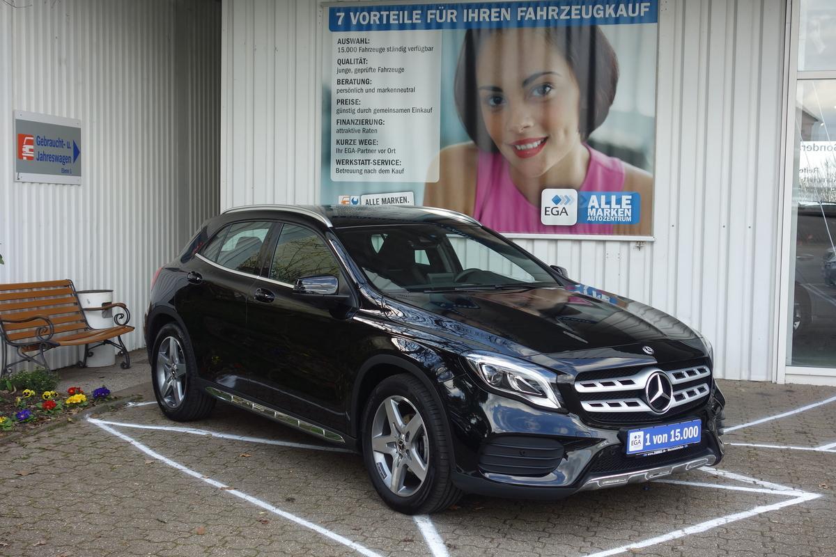 Mercedes-Benz GLA 200 7G-DCT*AMG-Line*BUSINESS*LED*SHZ*NAVI*DAB*PTS AKT*TEMPOM