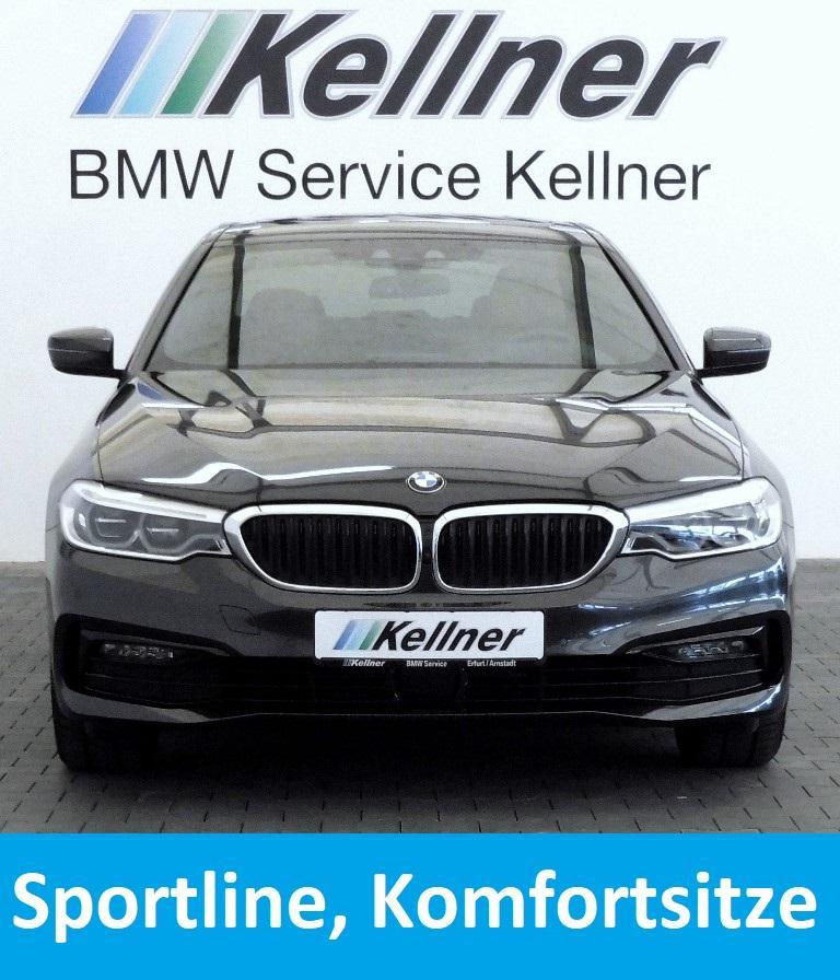 BMW 520i  Sport Line, Live Cockpit Plus, Komfortsitze belüftet