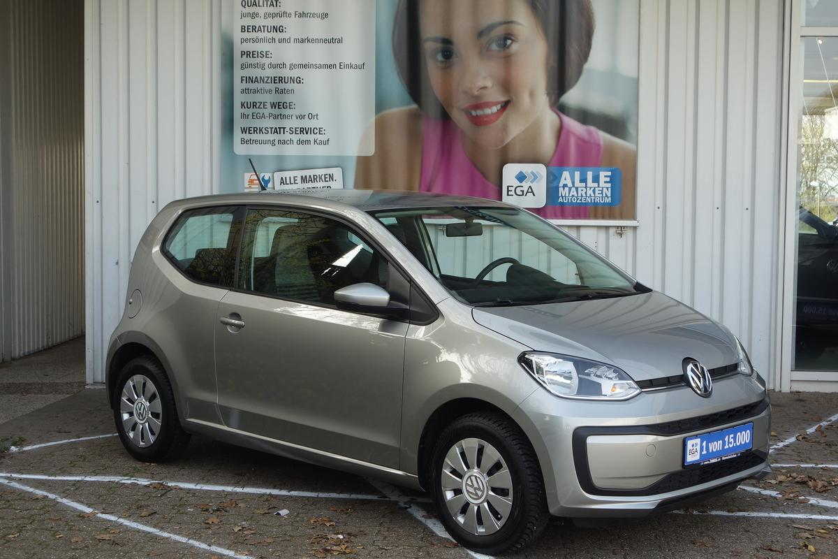 Volkswagen up! move up! KLIMA*EFH*FB-ZV*ALLWETTER*EASY ENTRY*USB*SERVO*
