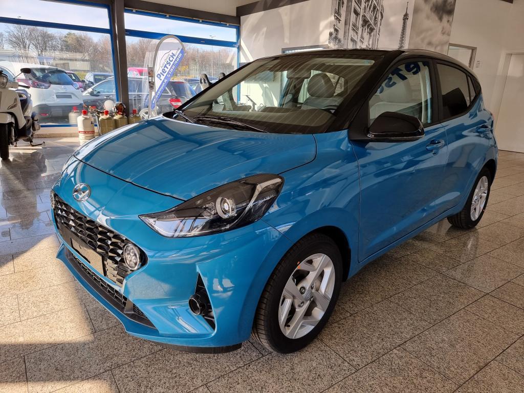 Hyundai i10 Facelift 2021 *SOFORT**SONDERZINS ab 0,89%* *4Sitze*Navi*Klimaauto*SHZ*PDC+R