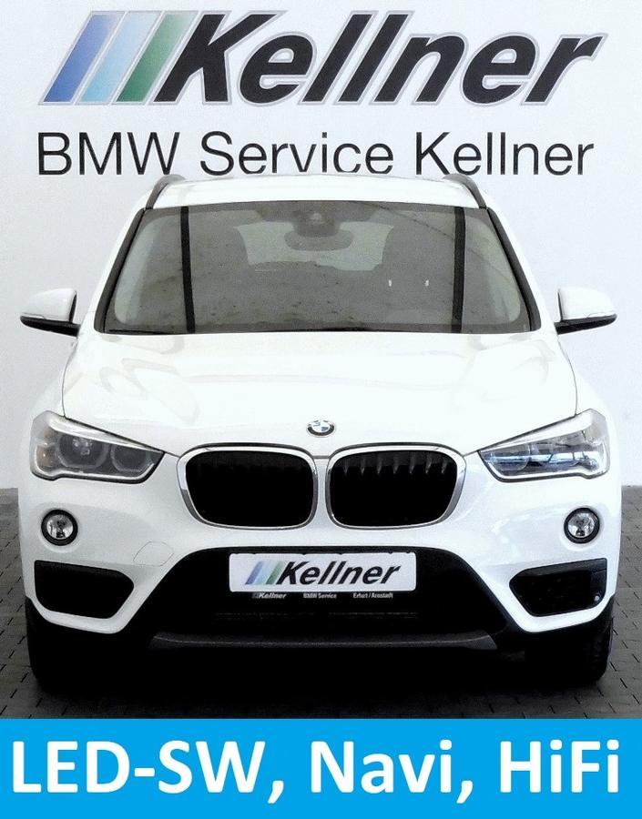 BMW X1 18i Aut. Adv. Navi HIFI LED Tempomat