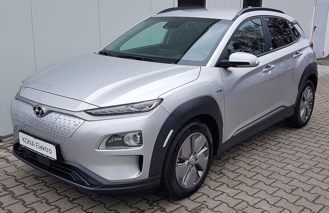 Hyundai Kona Style Elektro 150kW Navi*BAFA beantragt