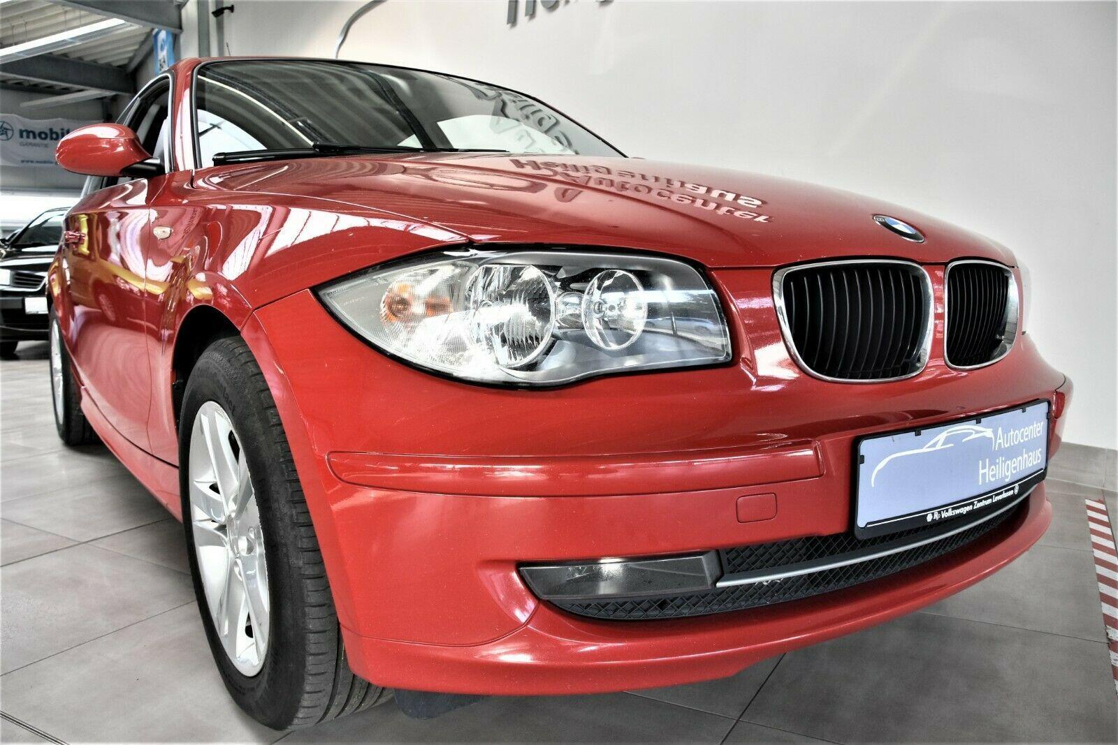 BMW 118d Limousine Klima Sitzheizung Schiebedach PDC