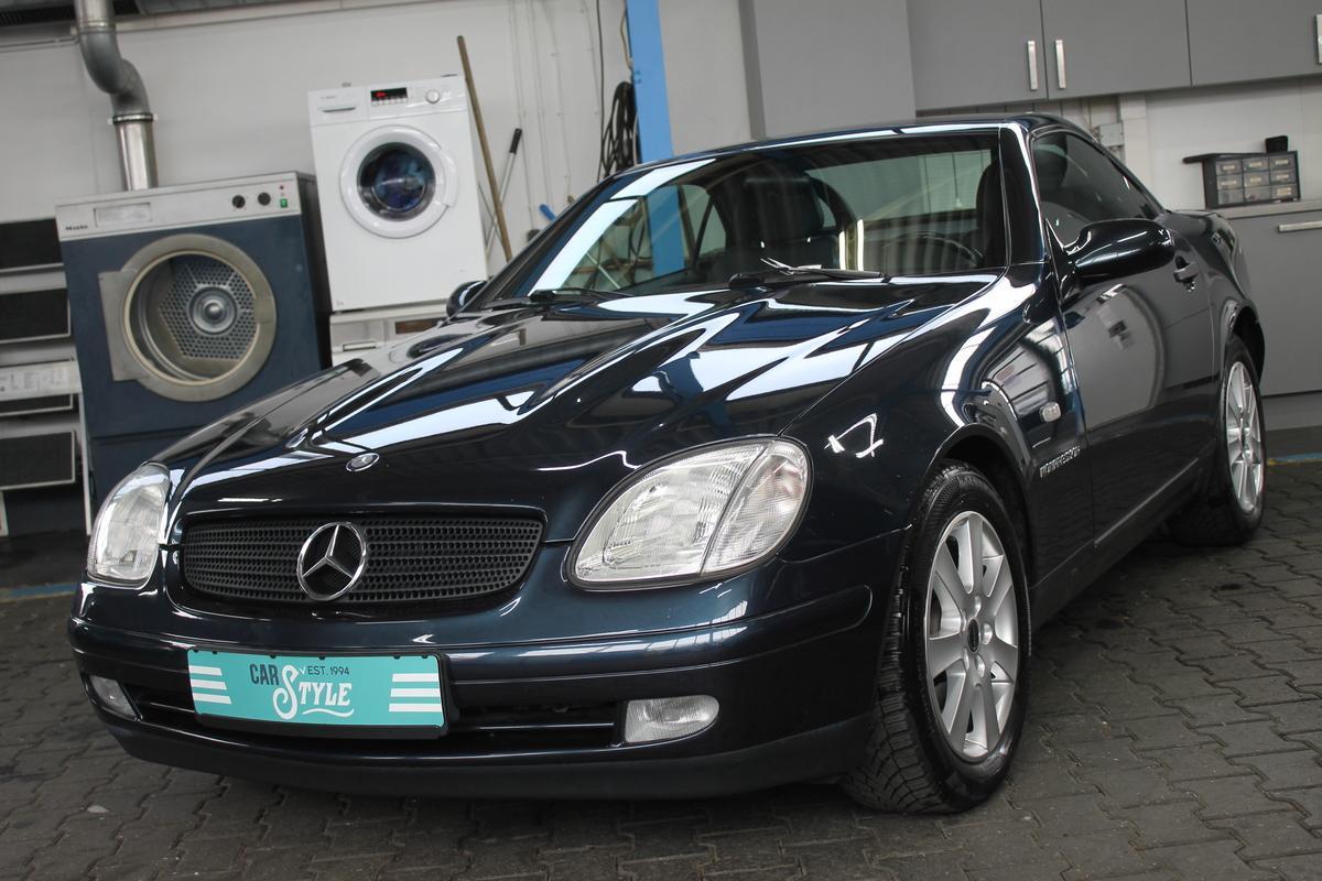 Mercedes-Benz SLK 230 Kompressor Vollleder el. Verdeck TÜV