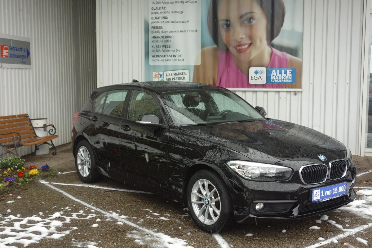 BMW 118 i ADVANTAGE*1 HD*NAVI*BT*PDC*SHZ*ALU FELGE*TEMPOM