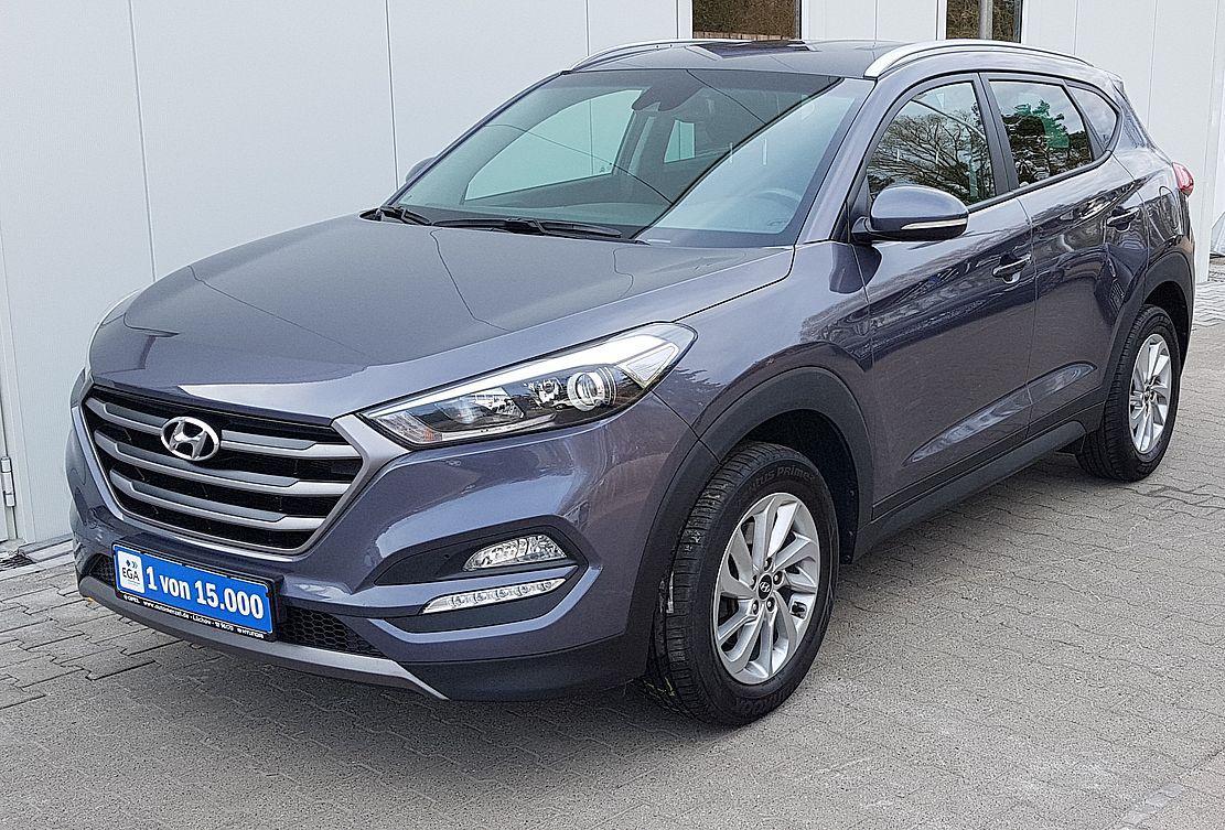 Hyundai Tucson Intro Edition 1.6 i Navi*Sitz&Lenkhzg*AHK